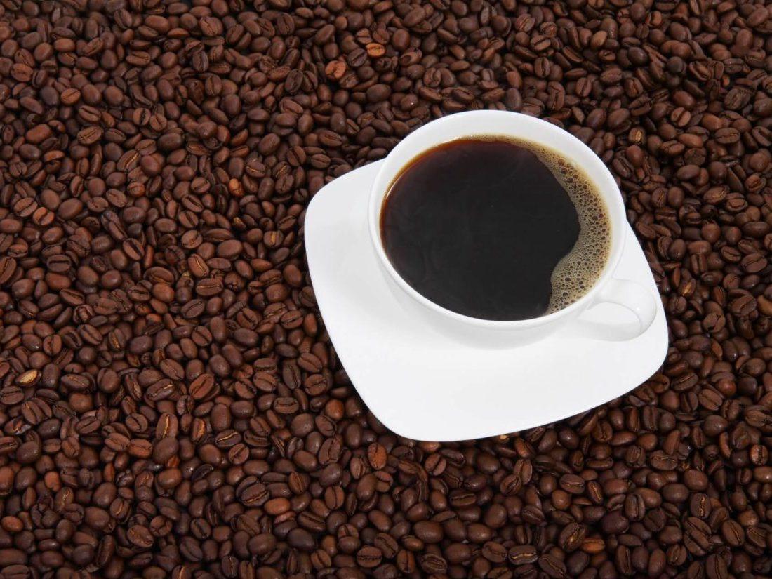 コーヒーとコーヒ豆